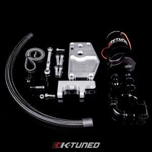 K-Tuned Billet Water Plate (Complete Kit w/ Electric Pump)