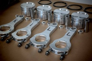 RameyRacing Spec GRP Billet Aluminum Rods (K-Series)