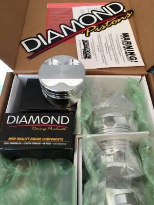 RameyRacing SFWD Spec Diamond Pistons (B-Series)