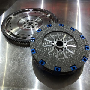 Spec Carbon To Carbon Twin Disc Clutch (B-Series)
