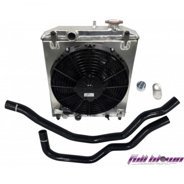 Full Blown Honda S2000 Half Sized Radiator Kit